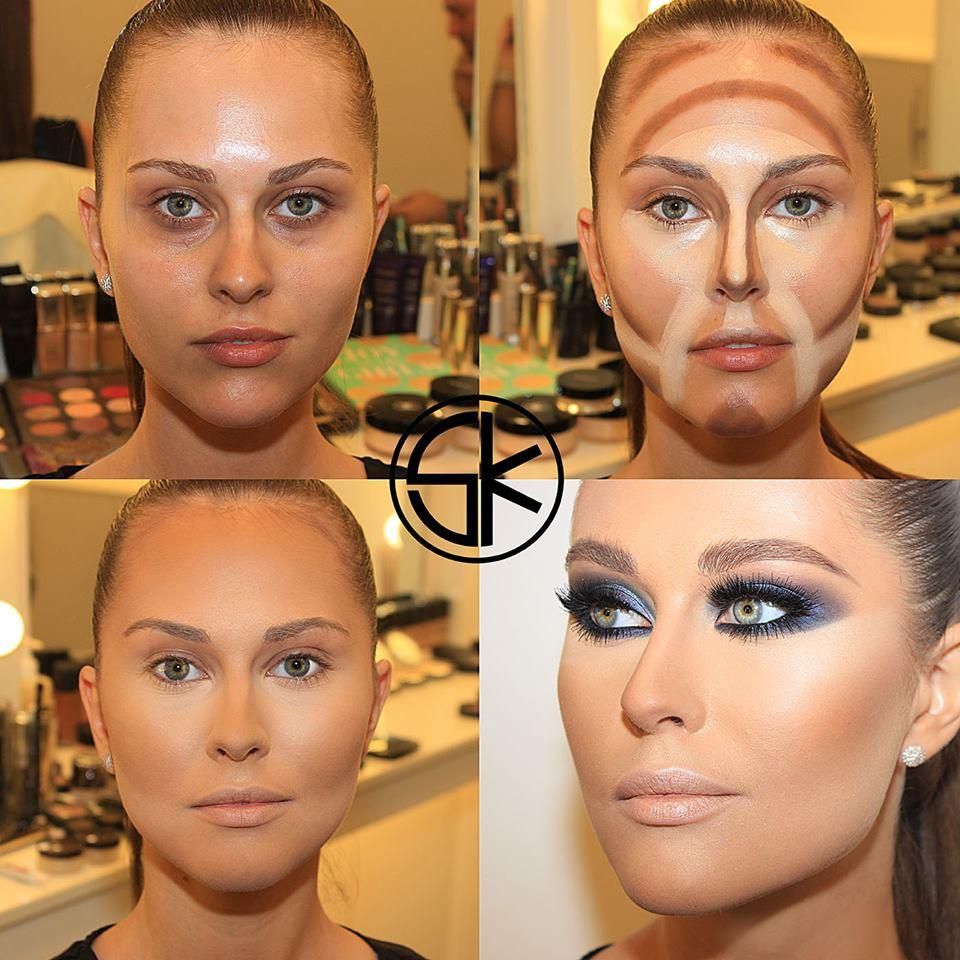 Molto Contouring: trasformare il viso con il make-up - Roba da Donne GS92