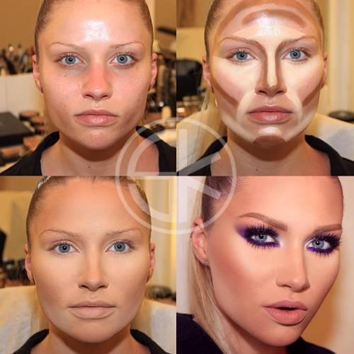 Ben noto Contouring: trasformare il viso con il make-up - Roba da Donne UX61