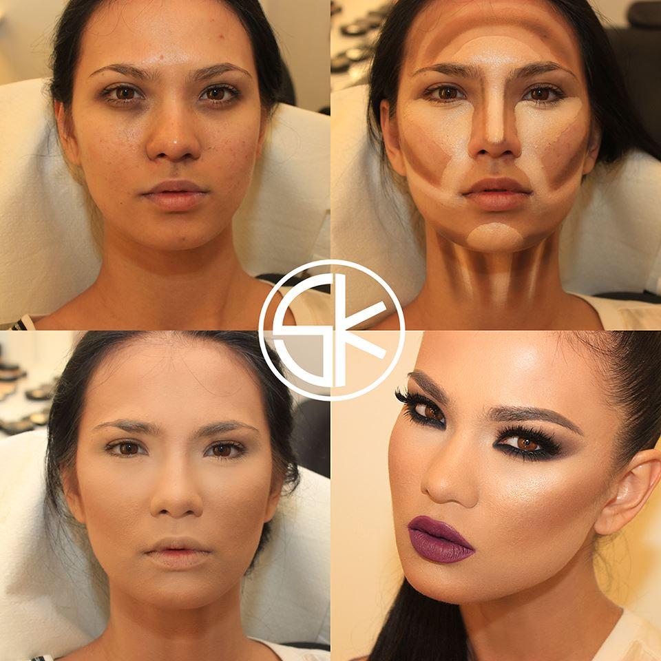 Popolare Contouring: trasformare il viso con il make-up - Roba da Donne BL25