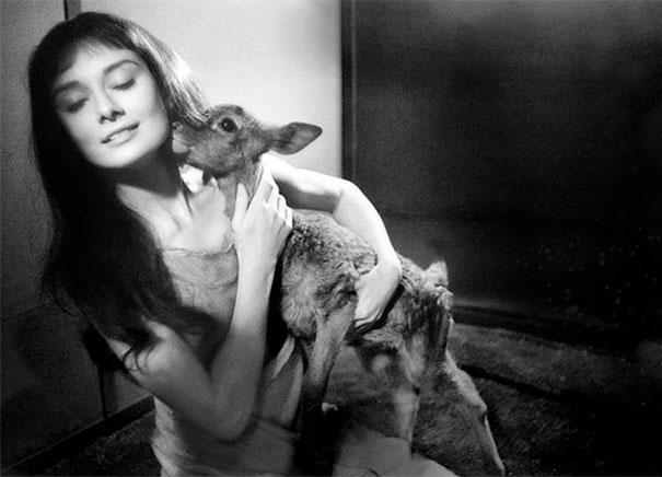 10 Scatti Inediti E Mai Visti Della Divina Audrey Hepburn