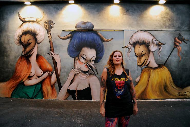 Quando L'Arte È Donna: 10 Street Artist In Rosa