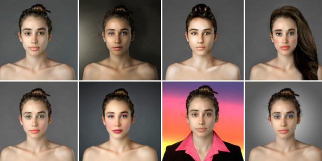 Questa Donna Trasforma Il Suo Volto Con Photoshop In 22 Paesi Diversi