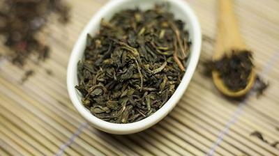 foglie tè verde