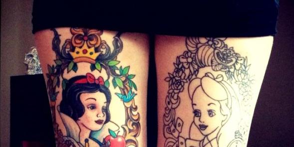 I tatuaggi più belli ed originali ispirati ai personaggi