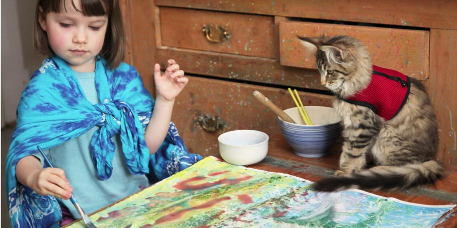 Iris Grace: La Bambina Autistica Che Dipinge Come Monet [FOTO]