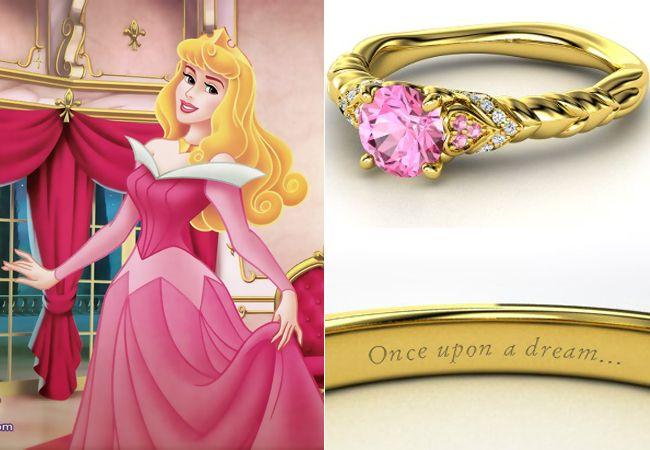 Gli anelli di fidanzamento ispirati alle principesse