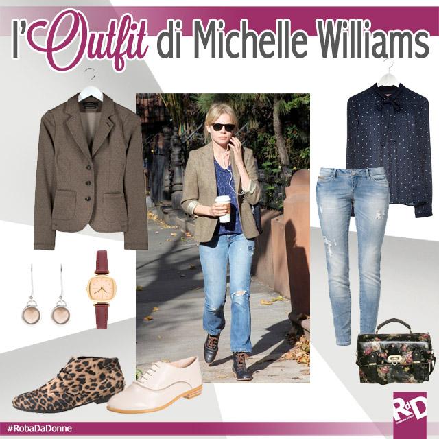 Copia L'Outfit di Michelle Williams