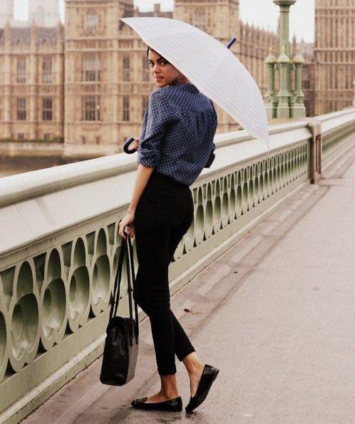 Bella Sotto L Ombrello  Consigli Fashion Per Vestirsi Con La Pioggia ... 1ea80de4290