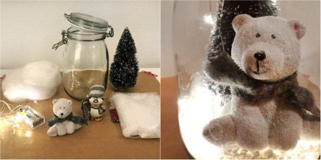 Idee Natale fai da te: come creare dei fantasiosi barattoli luminosi