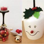 Riciclo Creativo: come creare dei portacandele natalizi unici ed originali