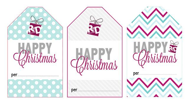 """Scarica GRATIS i """"TAG di RdD"""" per i vostri regali di Natale"""