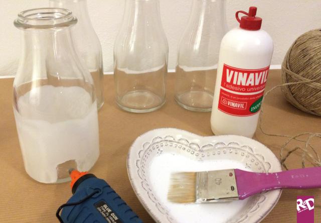Idee natale fai da te un modo alternativo per riciclare le bottiglie roba da donne - Portacandele natalizi fai da te ...
