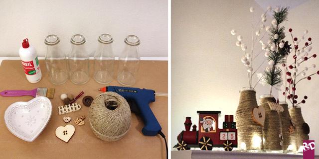 Idee natale fai da te un modo alternativo per riciclare le bottiglie roba da donne - Idee cucina per natale ...