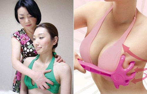 Aumento di formazione di un petto dal metodo giapponese