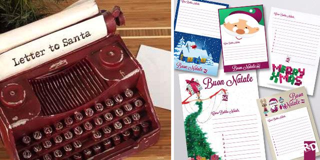 Scarica GRATIS le Letterine per Babbo Natale di RdD