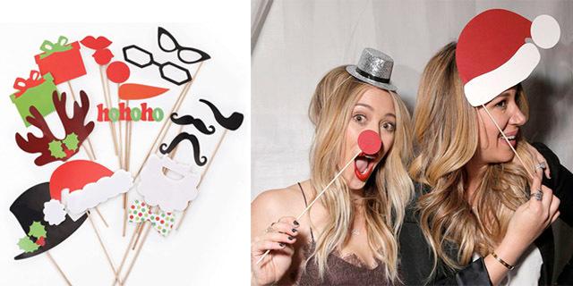 Mascherine di Natale per Foto Uniche: Scarica GRATIS i Cartamodelli!