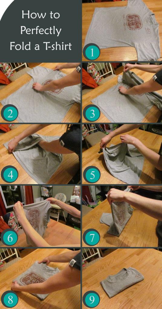 Come piegare perfettamente ogni cosa: dai vestiti ai sacchetti