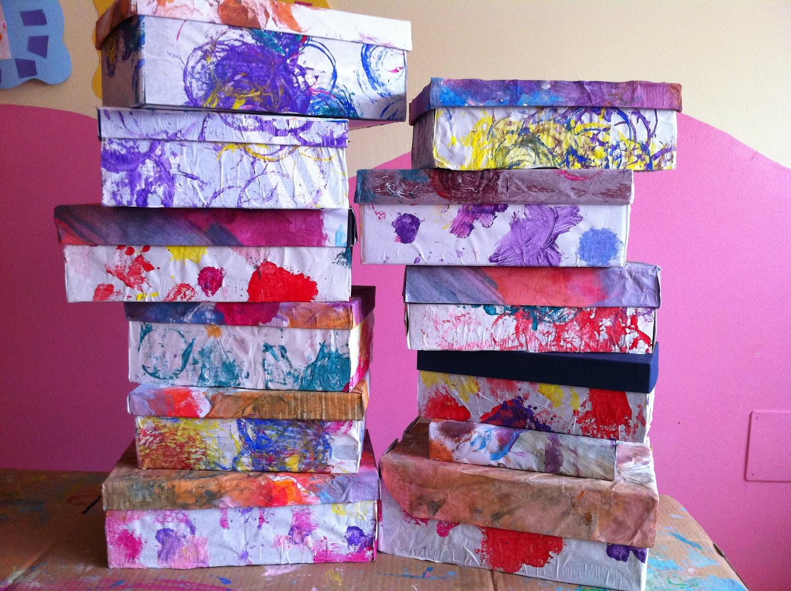 Come riciclare le scatole delle scarpe in modo creativo for Scatole fai da te