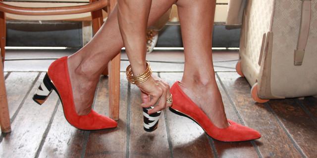 Da Décolleté a Ballerina in pochi secondi: le Scarpe con Tacco Removibile