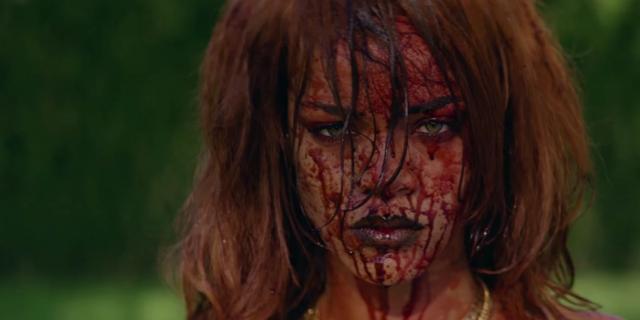 Rihanna: tra Porno e Splatter nel Nuovo Video Shock Vietato ai Bambini