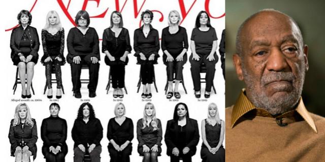 35 donne molestate da Bill Cosby sulla copertina del New York Magazine