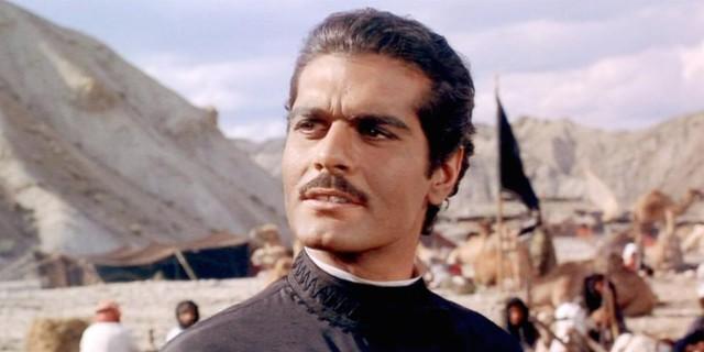 Omar Sharif in Dottor Zivago