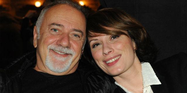 Giorgio Faletti e Chiara Buratti insieme