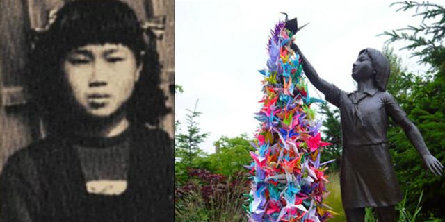 Storia della bimba che tentò di sopravvivere a Hiroshima con 1000 gru di carta