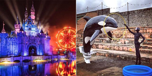 Dismaland: Apre il Parco Divertimenti dell'Orrore Parodia di Disneyland