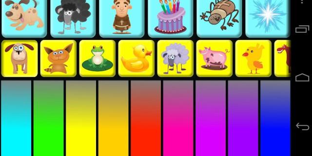 Giochi e app divertenti per imparare la musica col tablet: Animal Kids Piano