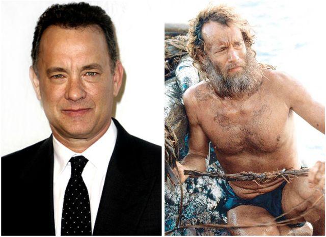 Tom Hanks in Cast Away