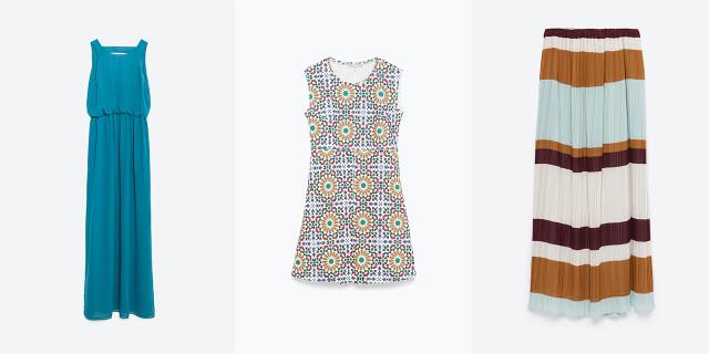 I vestiti e le gonne della collezione autunno-inverno 2015/2016 di Zara