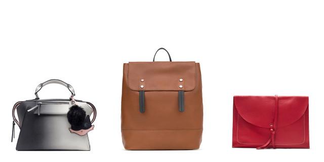 Le borse della collezione autunno-inverno 2015/2016 di Zara