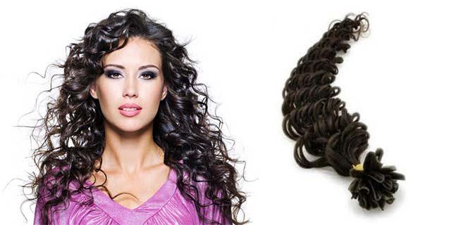 extension per capelli ricci