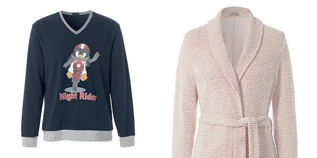 I pigiami della collezione autunno-inverno 2015/2016 di Intimissimi