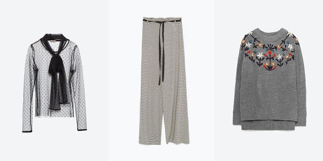 I maglioni e i pantaloni della collezione autunno-inverno 2015/2016 di Zara