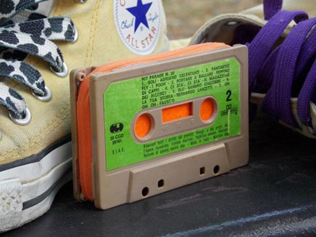 La musicassetta portamonete