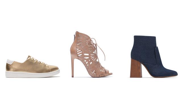 Le scarpe della collezione autunno-inverno 2015/2016 di Zara