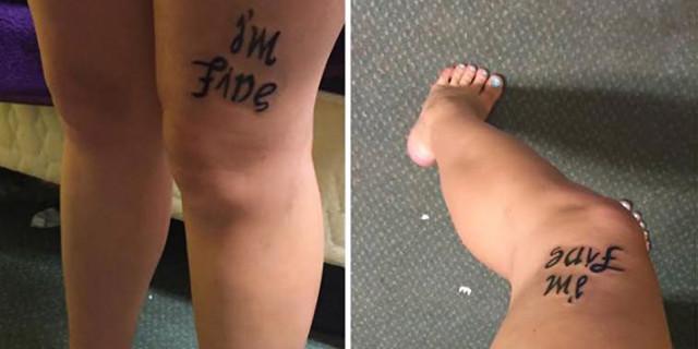 Un Tatuaggio dal Doppio Significato per Vincere la Depressione: l'Idea di Bekah