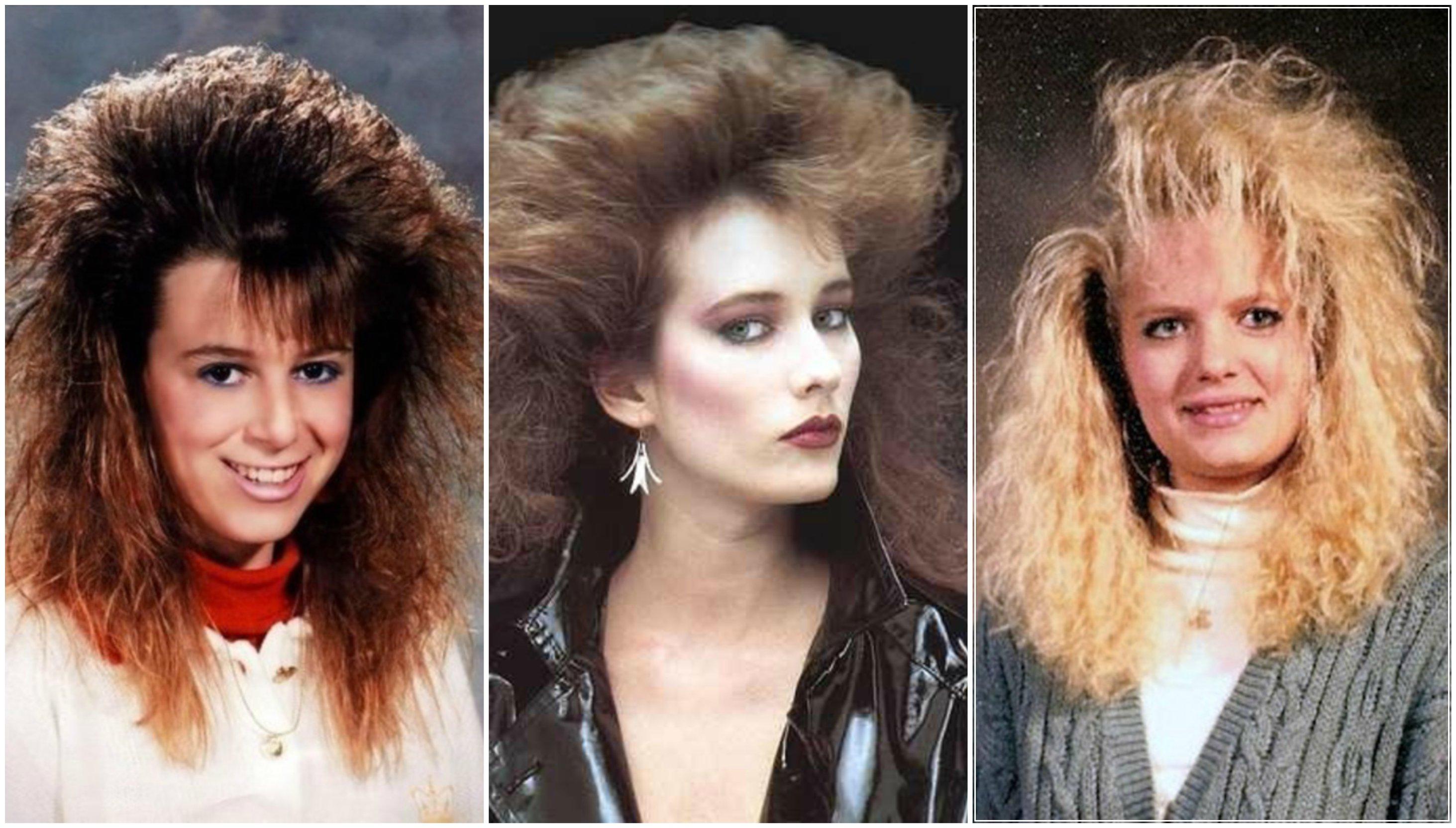 Moda anni 80 make up e acconciature