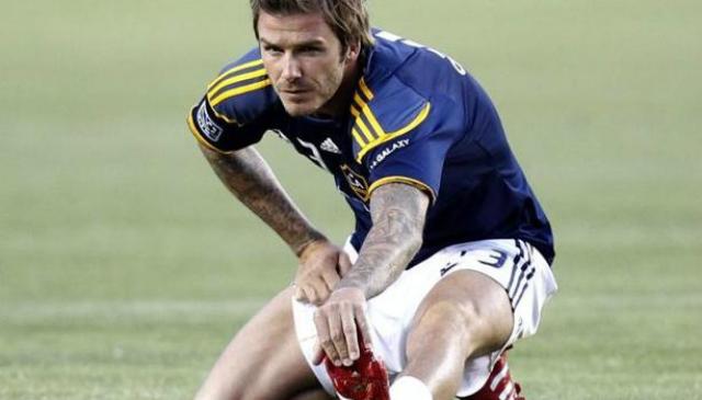 David Beckham gambe