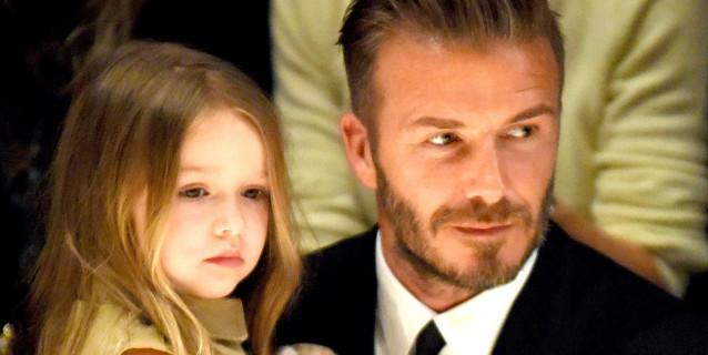 Il Nuovo Tatuaggio di David Beckham Disegnato dalla Figlia Harper