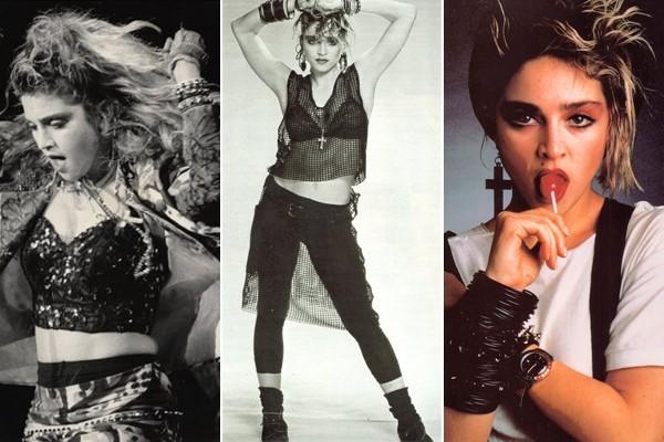 Moda anni 80 stile rock