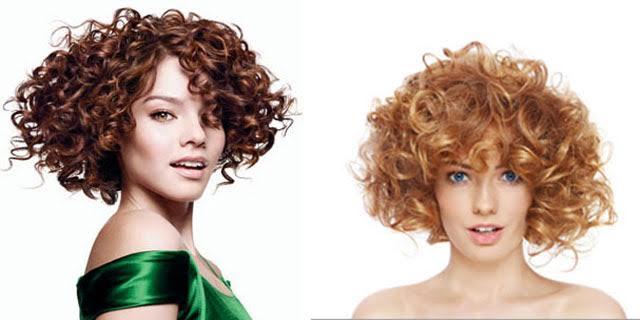 Tagli di capelli lunghi con permanente
