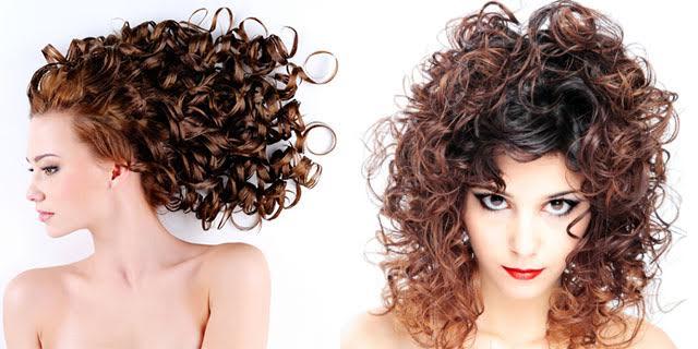 Permanente leggera capelli lunghi