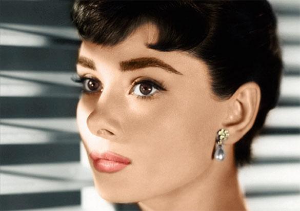 Trucco anni 60 Audrey Hepburn