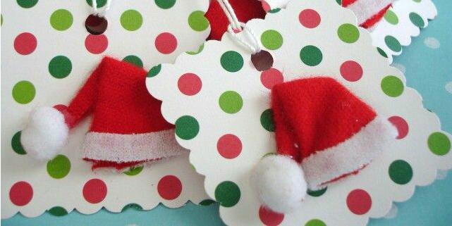 Estremamente Biglietti natalizi fai da te: 5 idee uniche! - Roba da Donne SQ56