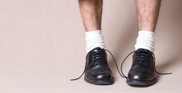 calzini bianchi odiati dalle donne