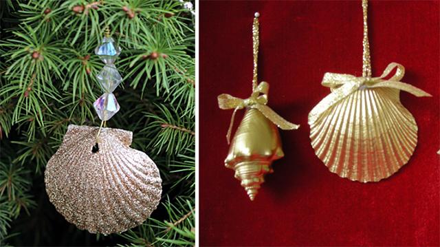 Decorazioni natalizie idee alternative e fai da te roba for Decorazioni con conchiglie