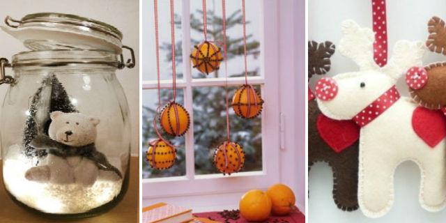 7 idee per addobbi e decorazioni natalizie fai da te for Novita oggettistica casa